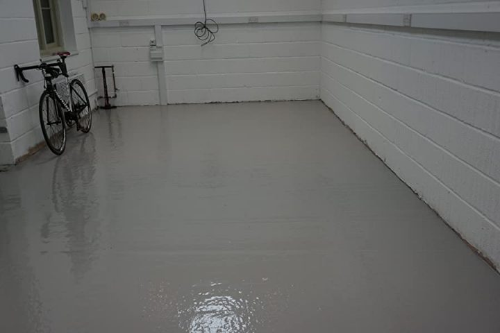 DIY Epoxy Garage Floor - A Step